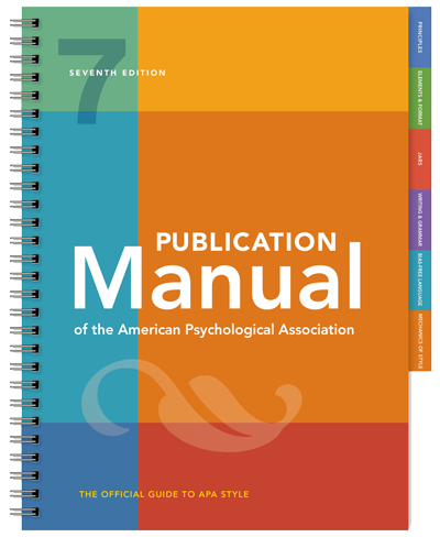 7th Edition Publication Manual