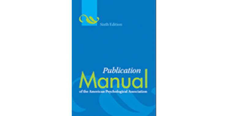 Publication Manual 6th Edition